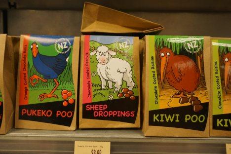 Słodycze w Nowej Zelandii