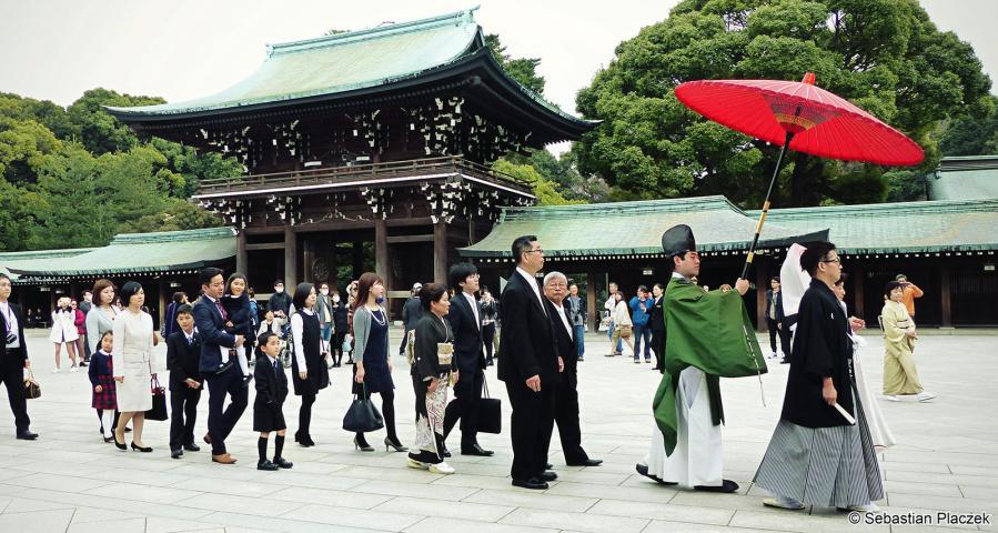 Ślub w Tokio, zdjęcia z podróży po Japonii