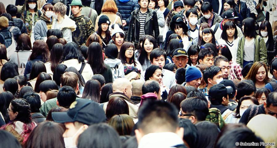 Tokio w godzinach szczytu