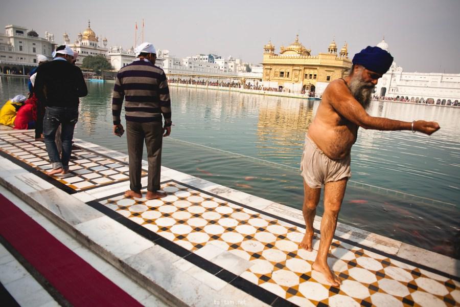 W złotej świątyni - podróż do Indii
