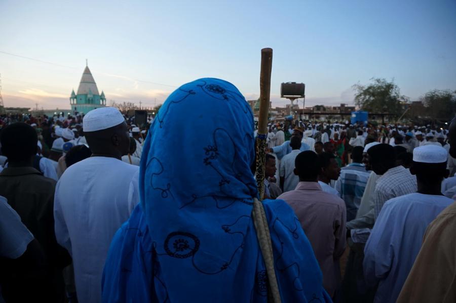 Sufici w Omdurmanie - zdjęcia z Sudanu