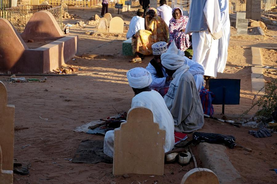 Sudan, sufici w Omdurmanie