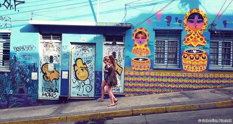 Spacer po Valparaiso. Zdjęcia z podróży do Chile