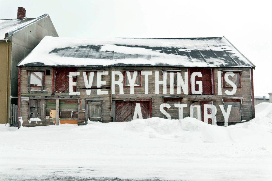 Vardo, Norwegia, street art