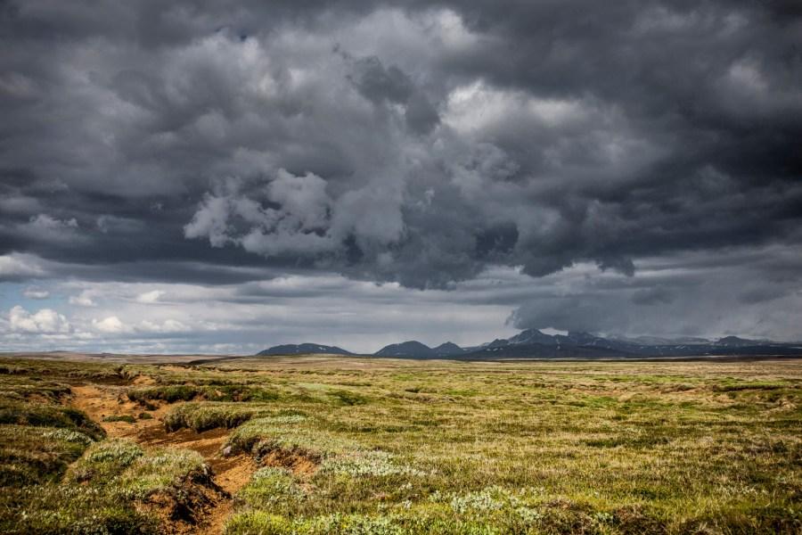 Krajobrazy Islandii - foto z podróży pieszej