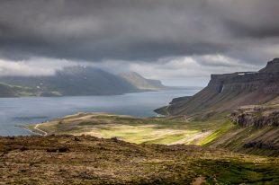 Fiordy na Islandii, okolice Holmaviku - foto z podróży