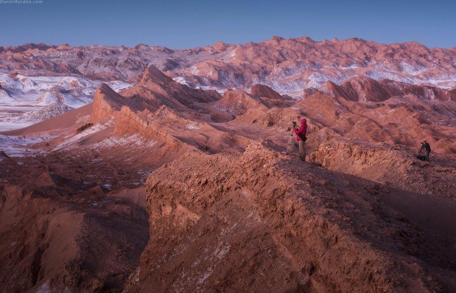 Pustynny krajobraz Salar de Uyuni, podroz Boliwia