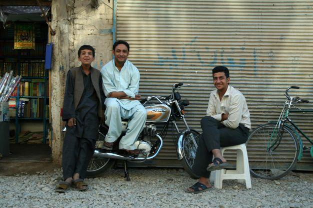 Mężczyźni w Afganistanie - zdjęcia z podróży
