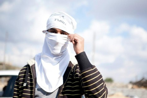 Palestyńczycy. (Fot. Anna Alboth)