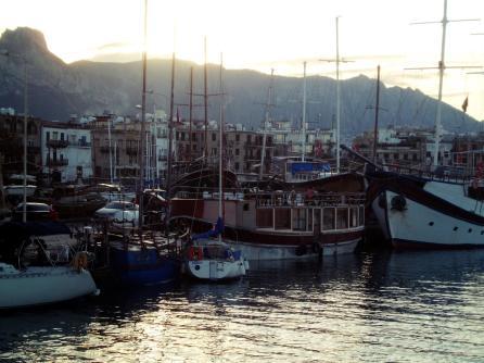 Port w Kyrenii, Cypr Północny