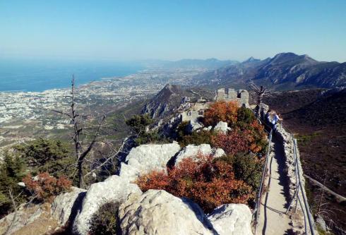 St. Hilarion, północna część Cypru