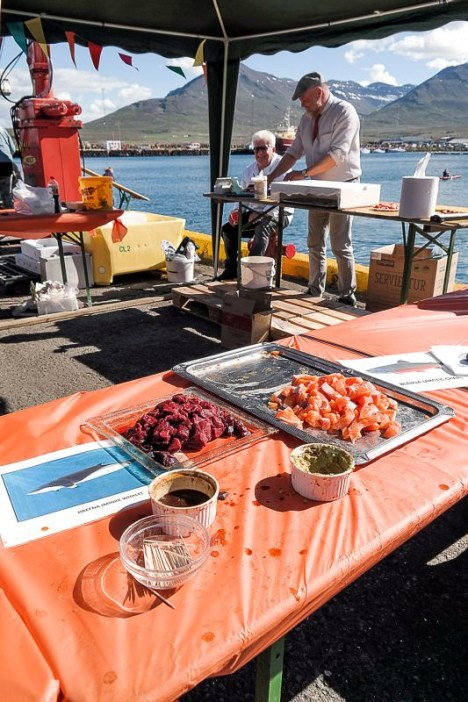 Islandia, kuchnia, surowe ryby