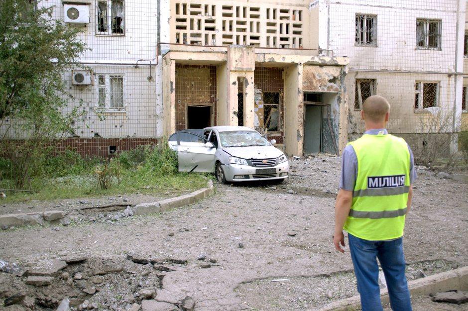 Donieck po bombardowaniu w lecie 2014 roku, Julia Wizowska