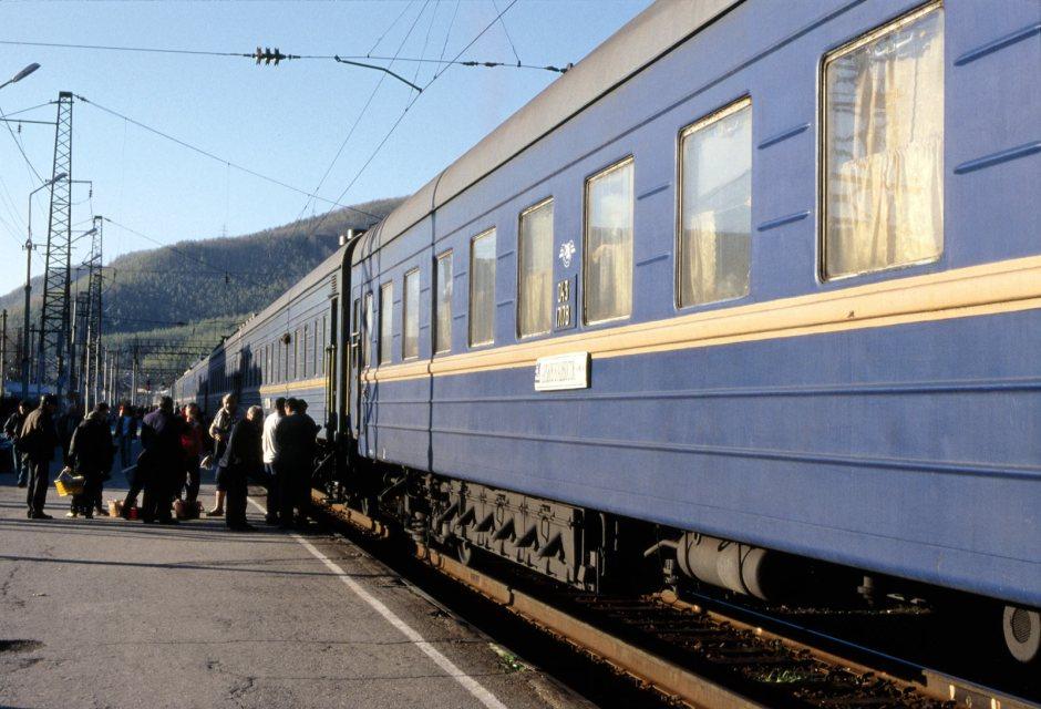 Kolej Transsyberyjska - fot. Piotr Milewski