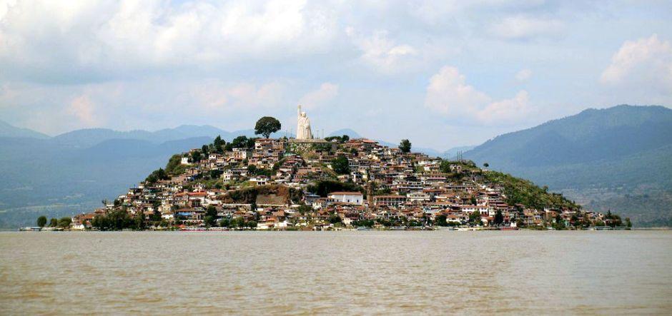 Wyspa Janitzio w Meksyku