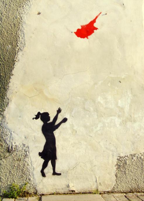 Cypr, street art w Nikozji