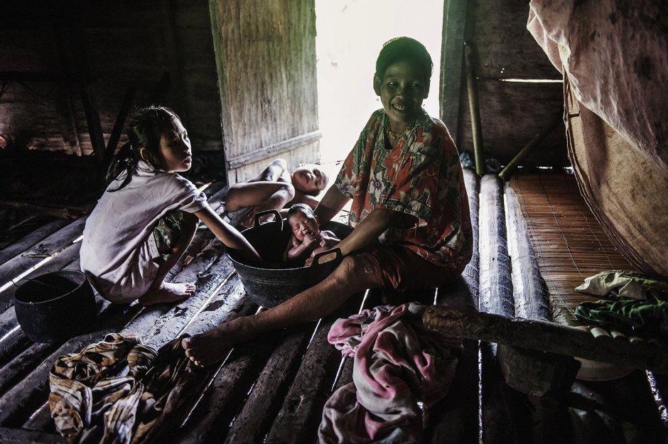Indonezja, zycie codzienne na wyspie Siberut