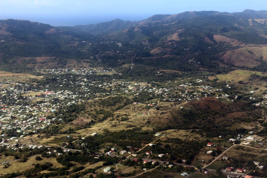Antigua i Barbuda, panorama wyspy