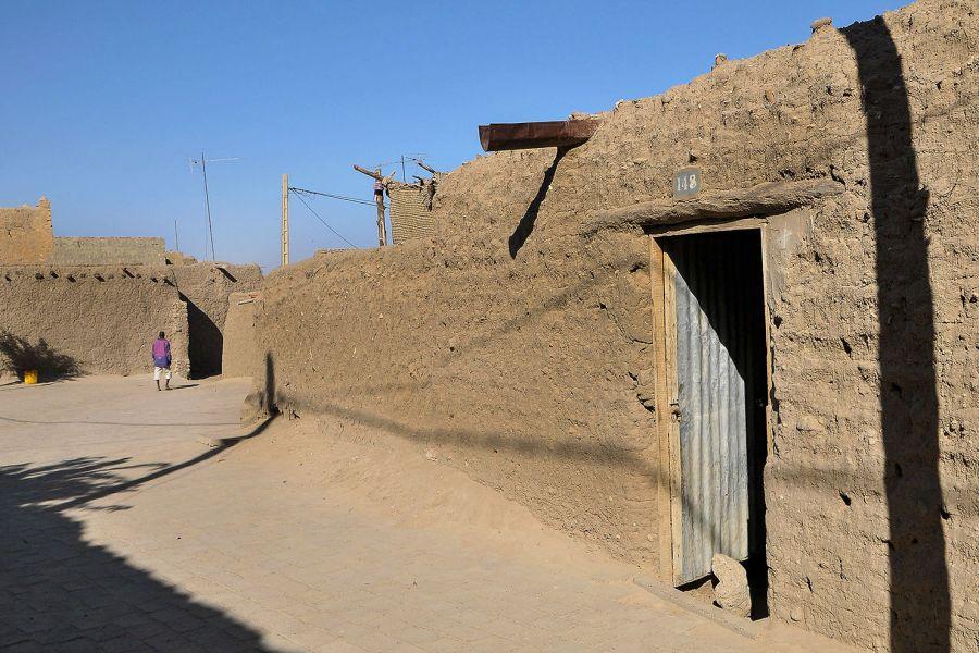 Timbuktu, jedna z uliczek miasta. Zdjęcia z podróży po Mali