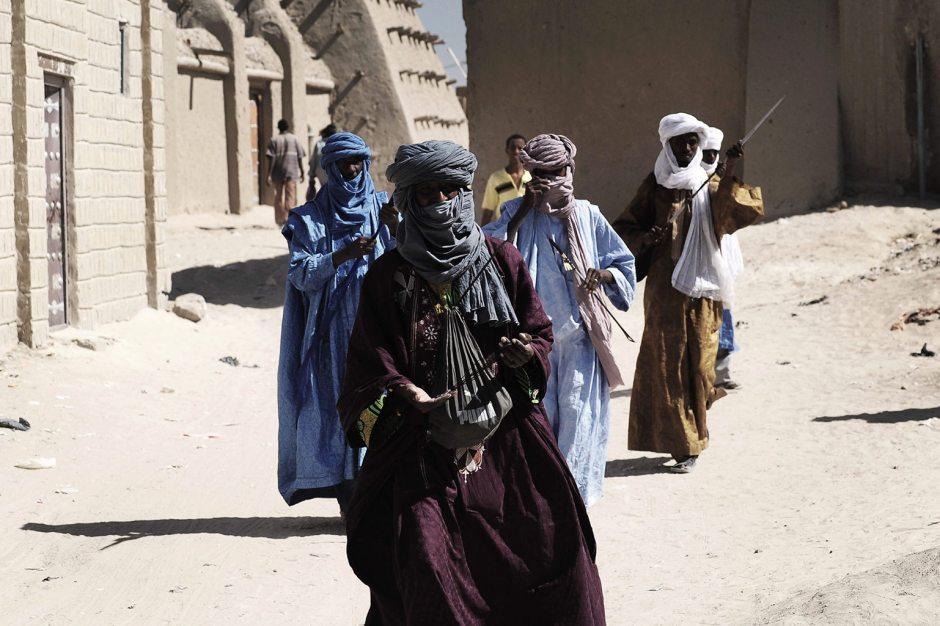 Tuaregowie - błękitni jeźdźcy Sahary, Timbuktu, Mali, Afryka