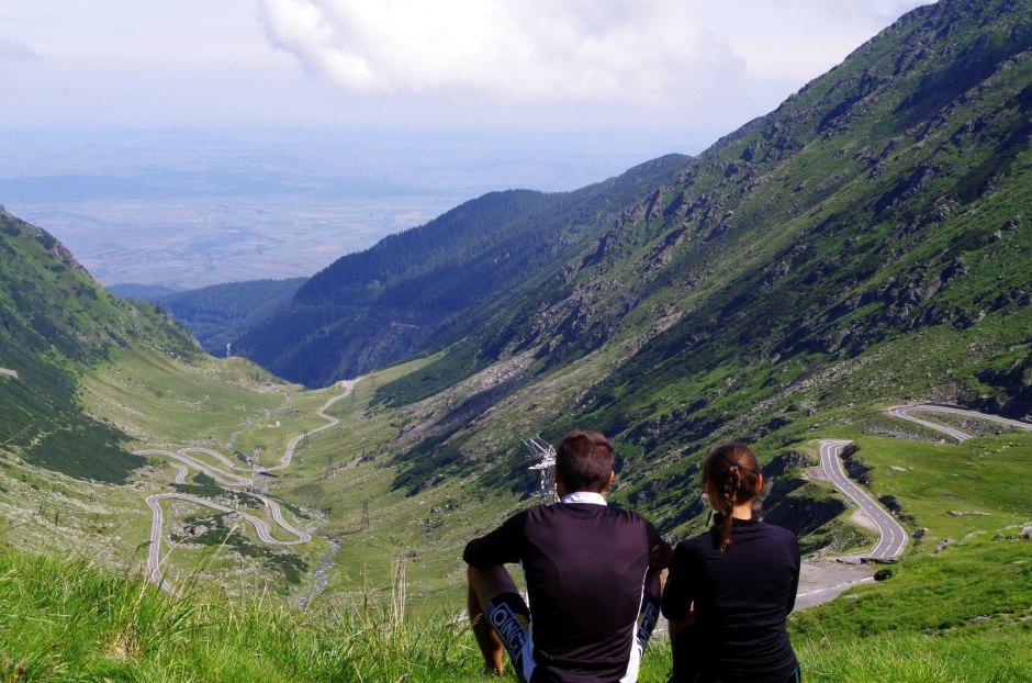 Rumunia rowerem - Transalpina