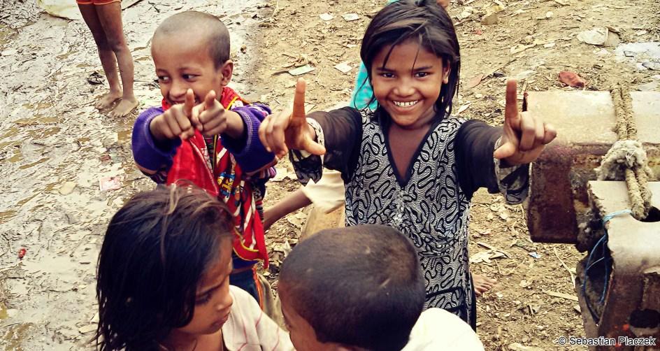 Bangladesz, dzieci z Dhaki