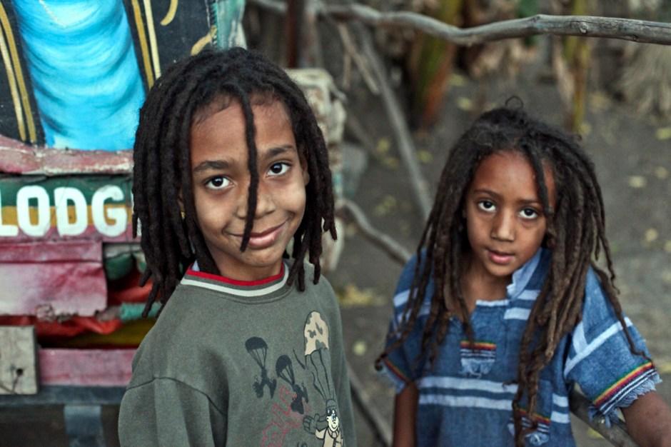 Dzieci rasta. Shashamane, Etiopia. (Fot. Roman Husarski)