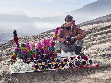 Pamiatki z Indonezji, podróż nad wulkan Bromo