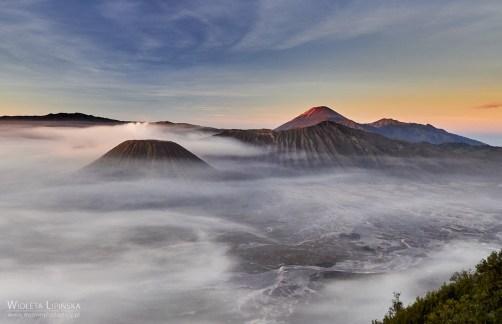 Indonezja, Jawa, podróż nad wulkany