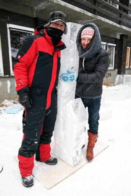 Bill COvitz, Ice Master, festiwal w Geilo, Norwegia