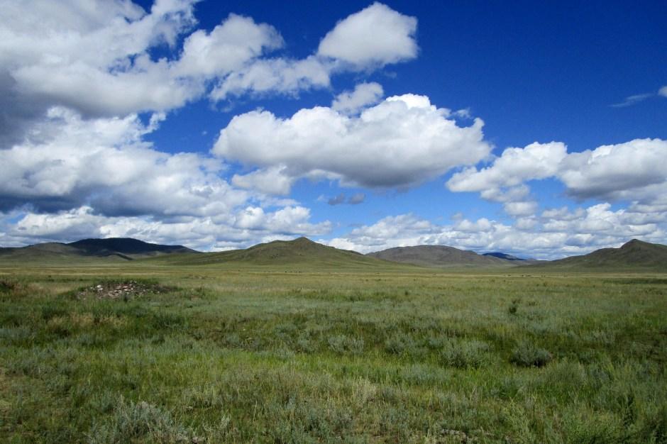 Tuwa, Rosja, krajobraz, step i góry