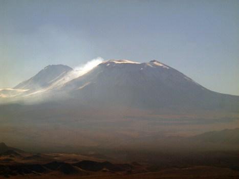 Chile, wulkan Lascan w Andach