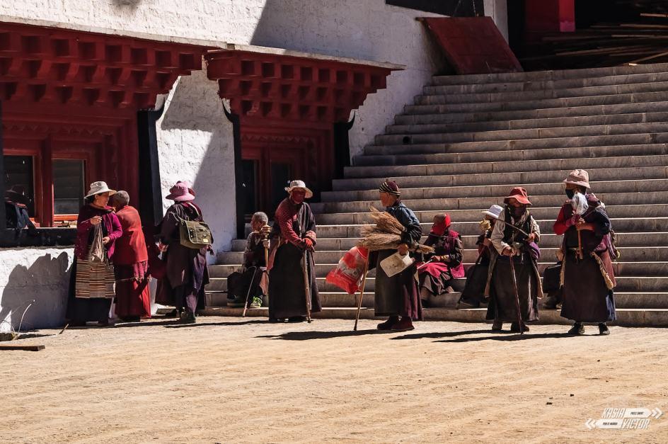 Chiny, klasztor w Litang
