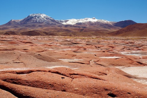 Chile, pustynia Atakama, Piedras Rojas