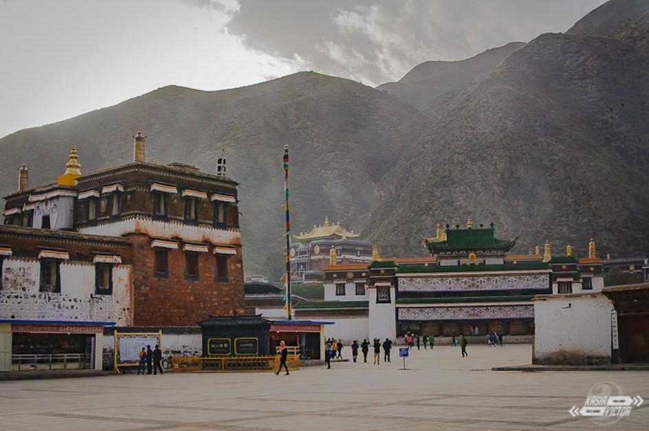 Podróż przez CHINY, Xiahe. Klasztor Labrang w Xiahe