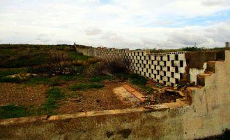 Aruba, mur dzielący wyspę