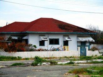 Wyspa Aruba, Morze Karaibskie, opuszczony dom