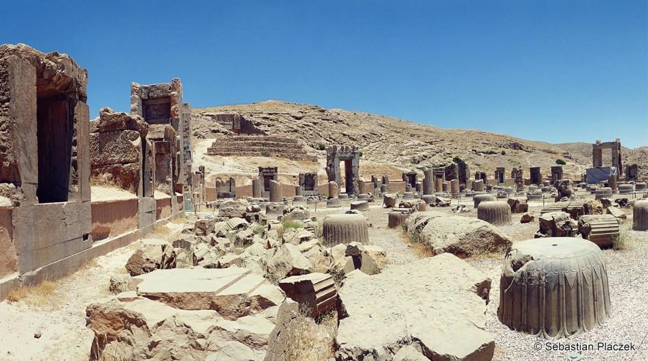 Iran, Persepolis - zdjęcia z podróży przez Iran