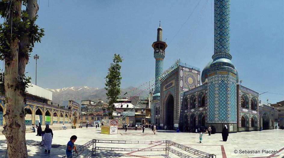 Iran, mauzoleum Emamzadeh Saleh w Teheranie - zdjęcia z podróży