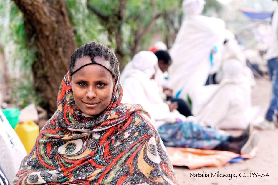 Etiopia, zdjęcia z podróży, kobieta w Lalibeli