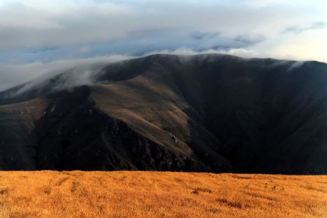 Krajobraz Kaukazu, podróż do Armenii