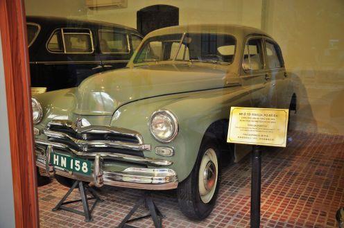 Wietnam, Hanoi, muzum Ho Chi Minha, radzieckie samochody