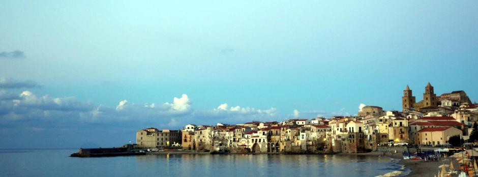 Włochy, Sycylia, Cefalu - zdjęcia z podróży rowewrowej