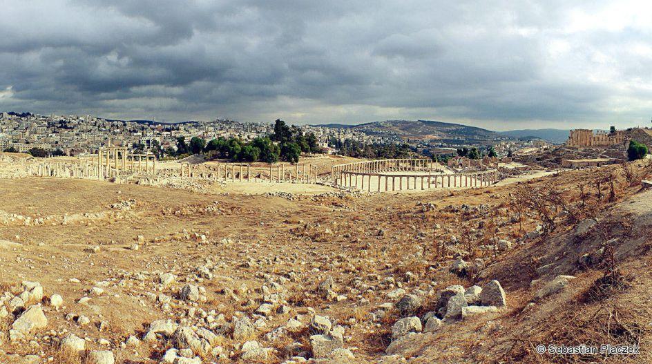 Jordania, panorama współczesnego Dżerasz