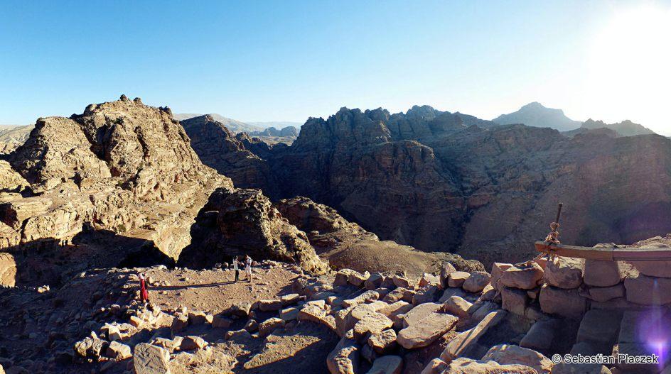 Jordania, panorama Petry, foto