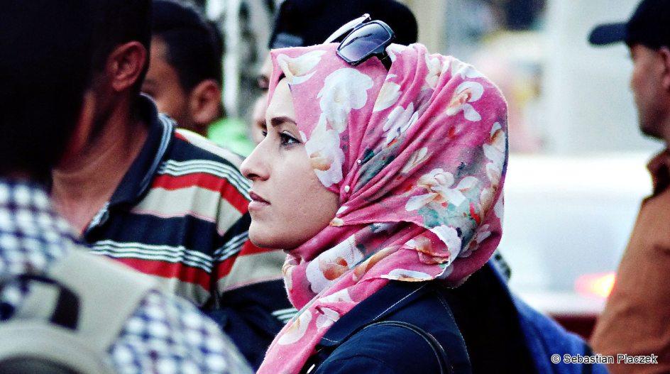 Jordania, muzułmanka z Ammanu, zdjęcia z podróży