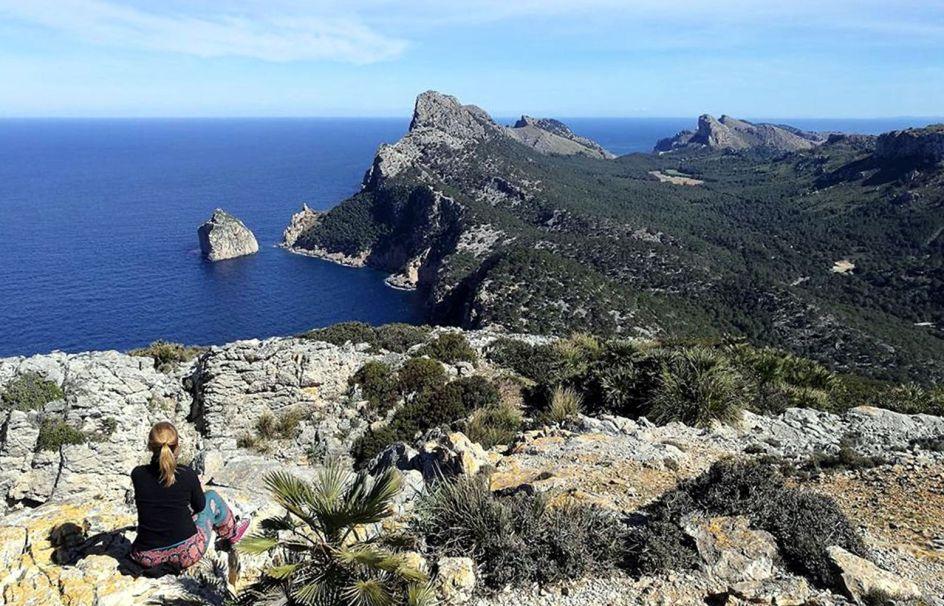 Majorka, geocaching, Mirador Es Colomer, punkt widokowy