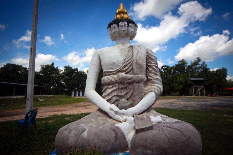 4. TAJLANDIA. Wat Pa Non Sawan. Foto. Roman Husarski