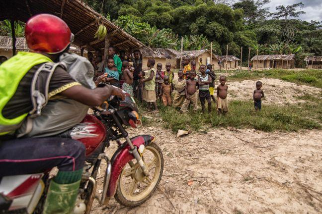 Kongo, podróż motocyklem