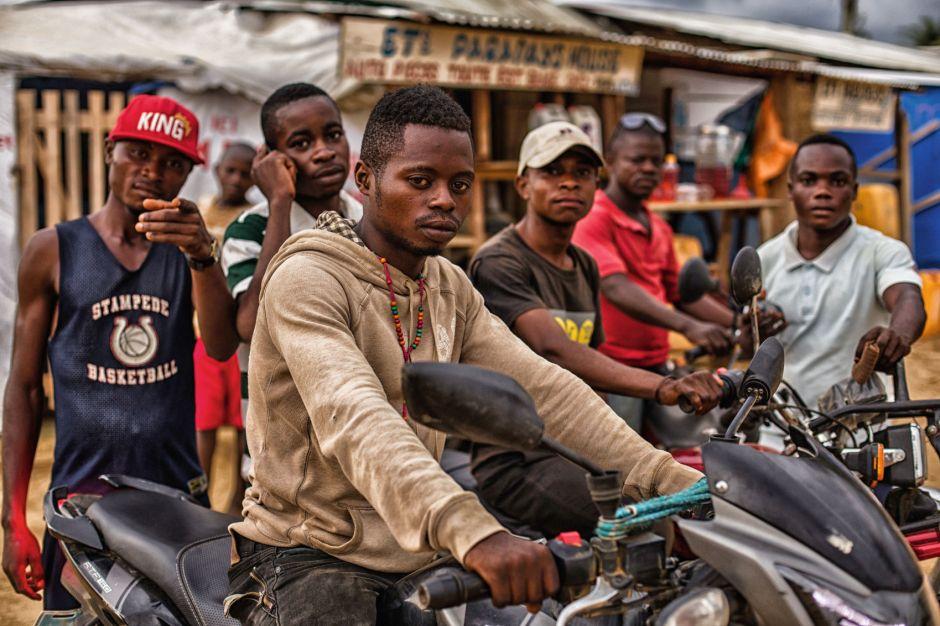 Kongo, motocykle